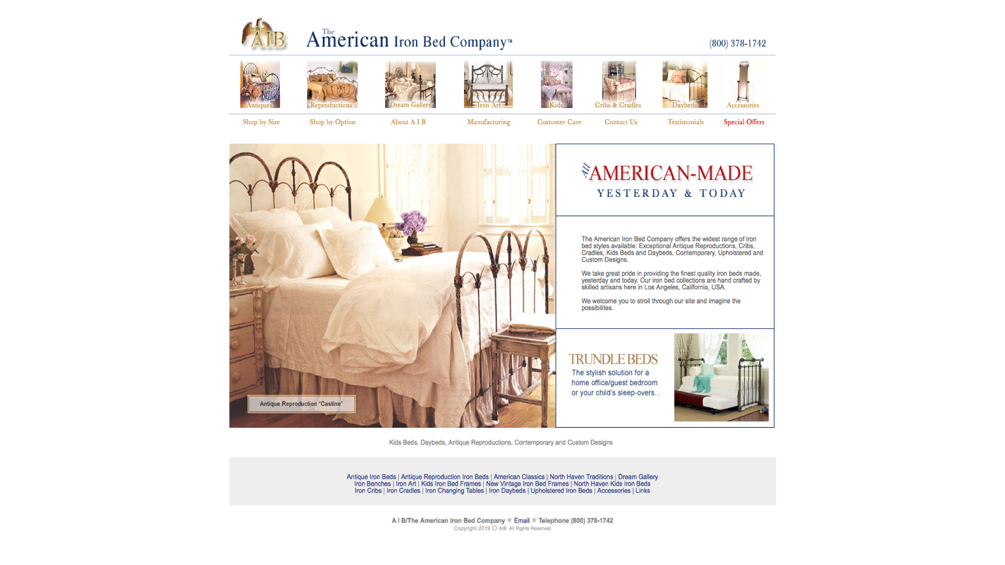 Picture of: Antique Iron Beds Antique Stores Online Antique Stores Online