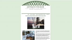 antique wicker